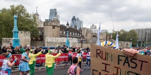 Your Fastest And Slowest London Marathon Miles Revealed
