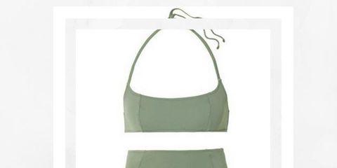 Clothing, Bikini, Swimsuit bottom, Undergarment, Swimwear, Undergarment, Briefs, One-piece swimsuit, Lingerie, Swimsuit top,