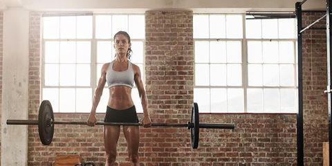 Shoulder, Physical fitness, Leg, Thigh, Standing, Strength training, Human leg, Arm, Joint, Barbell,