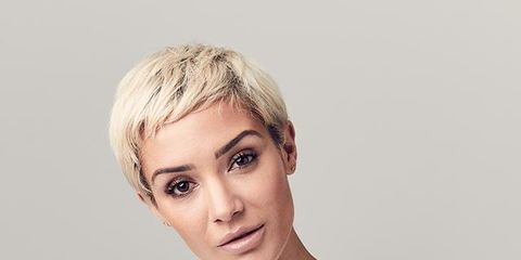 Face, Hair, White, Eyebrow, Hairstyle, Skin, Chin, Lip, Blond, Forehead,