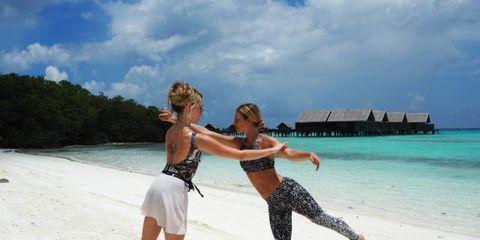 People on beach, Vacation, Fun, Beach, Sky, Summer, Honeymoon, Tourism, Tropics, Sea,
