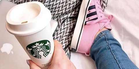 Temporary tattoo, Hand, Finger, Pink, Arm, Footwear, Leg, Cool, Cup, Drinkware,