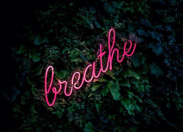 Do we breathe without thinking