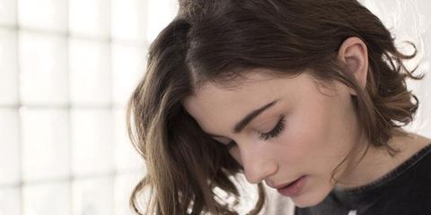 Hair, Face, Hairstyle, Eyebrow, Forehead, Beauty, Skin, Nose, Ear, Chin,