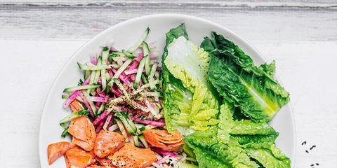 Food, Dish, Cuisine, Ingredient, Vegetable, Salad, Produce, Leaf vegetable, Recipe, Cruciferous vegetables,
