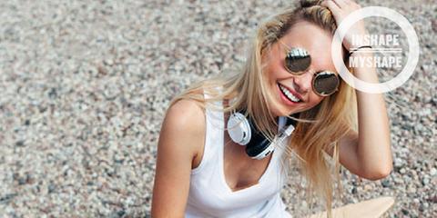 Eyewear, Blond, Beauty, Sunglasses, Glasses, Leg, Fashion, Summer, Cool, Photo shoot,