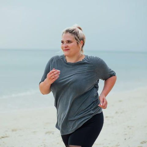beach, vacation, fun, summer, sea, running, jogging, recreation, ocean, physical fitness,