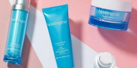 Product, Aqua, Cream, Material property, Skin care, Solution, Plastic bottle, Plastic,