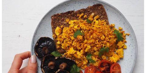 High Protein Breakfasts - Protein Scramble