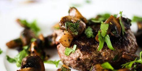 Food, Cuisine, Ingredient, Recipe, Meat, Dish, Beef, Garnish, Dishware, Cooking,