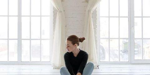 White, Photograph, Sitting, Footwear, Floor, Leg, Shoe, Standing, Fashion, Flooring,