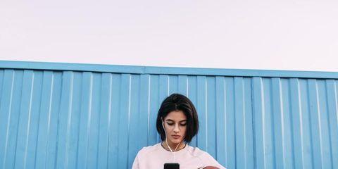 Photograph, Blue, Pink, Shoulder, Textile, Photography,