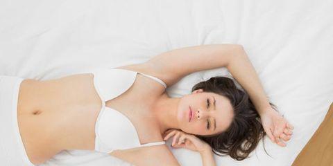 Clothing, Skin, Shoulder, Elbow, Joint, Comfort, Brassiere, Beauty, Waist, Neck,