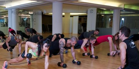 Equinox Classes Reviews >> Equinox Training Camp It S A Bootcamp But Not As You Know It